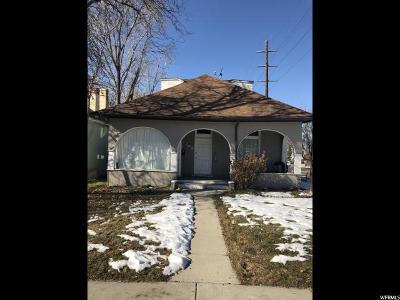 Salt Lake City Multi Family Home For Sale: 702 S 900 E