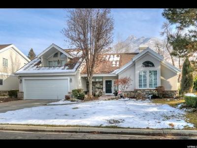 Holladay Single Family Home For Sale: 5045 S Casto Cir E