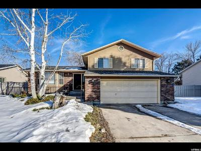 Ogden Single Family Home Under Contract: 4770 S Glasmann Way
