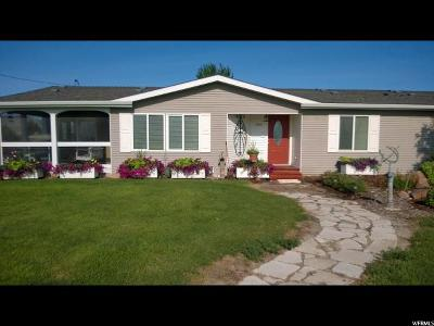 Tremonton Single Family Home For Sale: 7215 N 7200 W