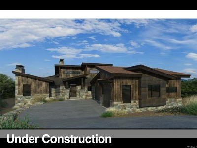 Wasatch County Single Family Home For Sale: 2064 E Chimney Rock Circle (Lot 230) #230