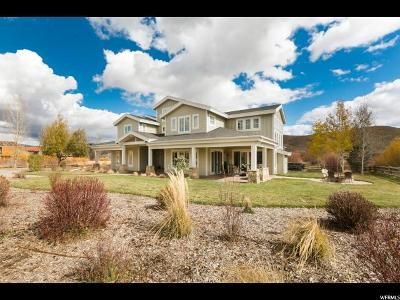 Park City Single Family Home For Sale: 4846 N Old Meadow Ln W