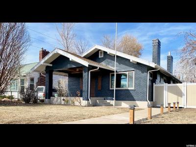 Sugar House Single Family Home For Sale: 1285 E Parkway Ave