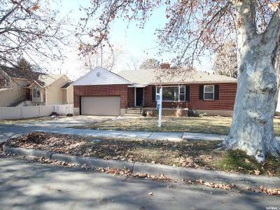 Kaysville Single Family Home For Sale: 141 N 500 E