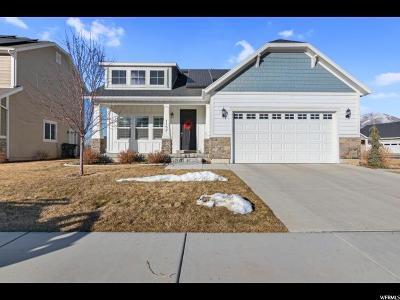 Mapleton Single Family Home For Sale: 1152 W 120 N