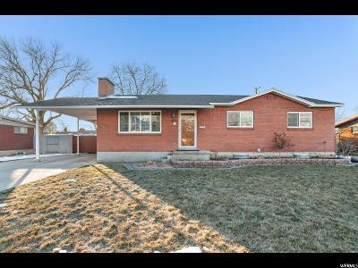 Orem Single Family Home For Sale: 1446 S 720 E