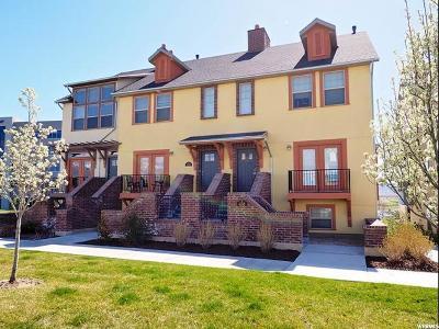 Draper Townhouse For Sale: 438 W Long Creek Ln