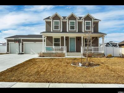 West Jordan Single Family Home For Sale: 9482 S Lea Heather Way W