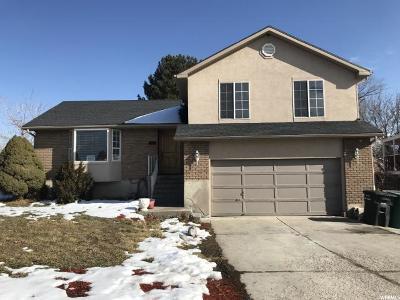 West Jordan Single Family Home For Sale: 6727 S 1645 W