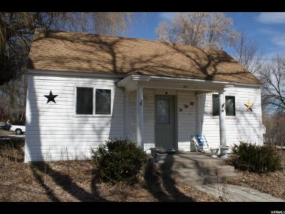 Wellsville Single Family Home For Sale: 97 W 100 S