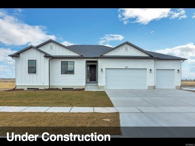 Stansbury Park Single Family Home For Sale: 6525 N Flat Top Dr W #310
