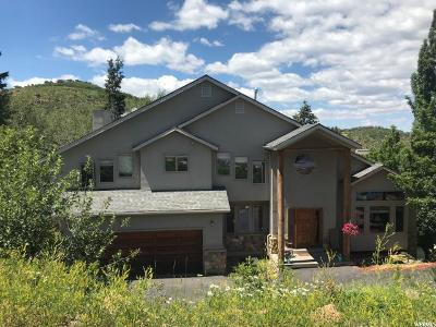 Park City Single Family Home For Sale: 7440 N Buckboard Dr