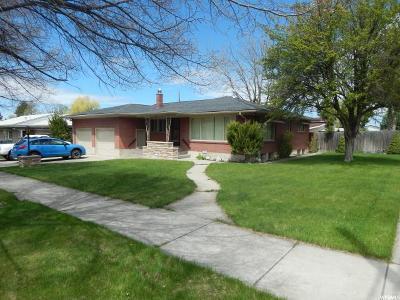 Logan UT Single Family Home For Sale: $289,000