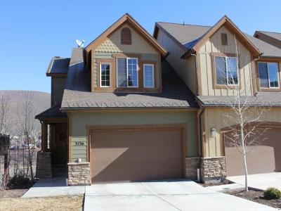 Park City Townhouse For Sale: 3136 W Lower Saddleback Rd N