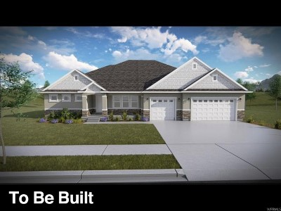 Herriman Single Family Home For Sale: 4552 W Wharton Dr #416