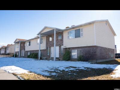 Pleasant Grove Multi Family Home Under Contract: 1683 W Garden Dr