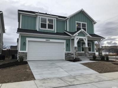 Bluffdale Single Family Home For Sale: 14941 S Hidden Falls Way W #114