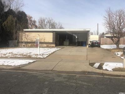 Kaysville Single Family Home For Sale: 533 E 100 N