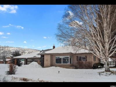 Wasatch County Single Family Home For Sale: 310 N 400 E