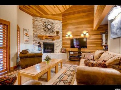 Park City Townhouse For Sale: 1687 Lakeside Cir #11-D
