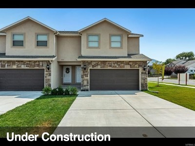Spanish Fork Townhouse For Sale: 1113 E 870 N #27