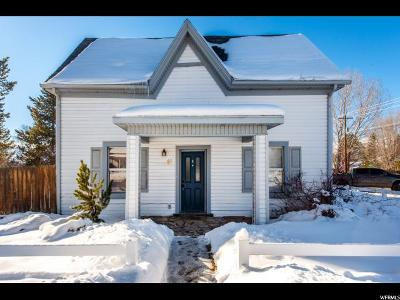 Wasatch County Single Family Home For Sale: 95 N 300 W