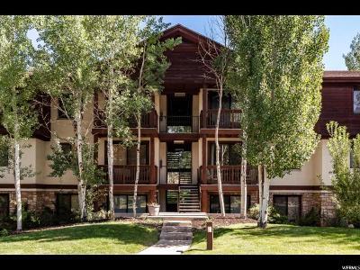 Park City Condo For Sale: 1600 W Pinebrook Blvd #F-5