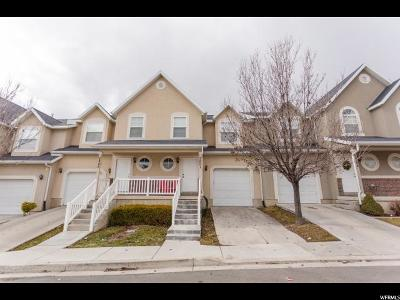 Lehi Townhouse For Sale: 2851 N Bridalwood Loop