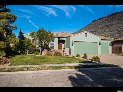 St. George Single Family Home For Sale: 1284 W 530 S