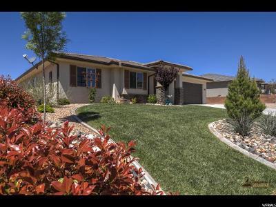 St. George Single Family Home For Sale: 5962 Desert Crest Dr