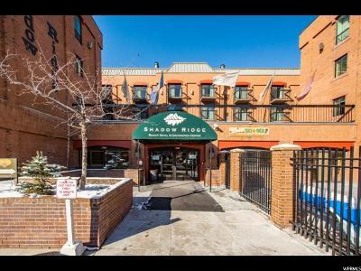 Park City Condo For Sale: 50 Shadow Ridge Rd #4307