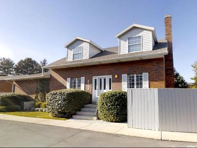 Holladay Townhouse For Sale: 4788 S Saxony Cir E