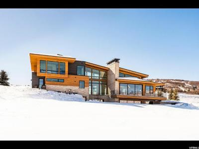 Park City Single Family Home For Sale: 7970 Glenwild Dr