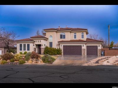 St. George Single Family Home For Sale: 1246 W 300 N