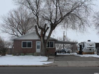 Tremonton Single Family Home For Sale: 397 S Tremont