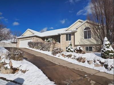 Kaysville Single Family Home For Sale: 1306 N Thornfield Rd