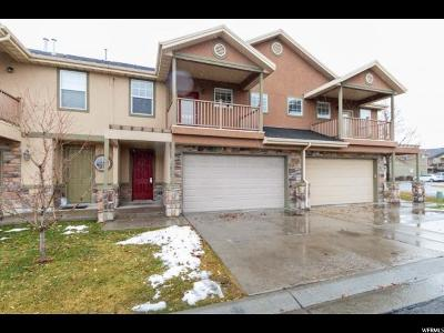 Pleasant Grove Townhouse For Sale: 1525 W 190 N