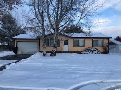 Preston Single Family Home For Sale: 324 N 1st E