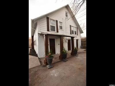 Salt Lake City Multi Family Home For Sale: 524 E Elm Ave
