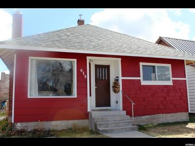 Single Family Home For Sale: 619 Grant St