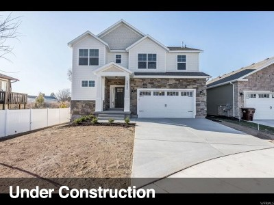 Salt Lake City Single Family Home Under Contract: 921 E Queensmill Ln #204