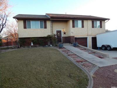 St. George UT Single Family Home For Sale: $330,000