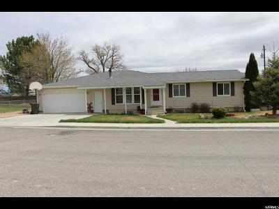 Carbon, Emery County Single Family Home Under Contract: 160 N 800 W