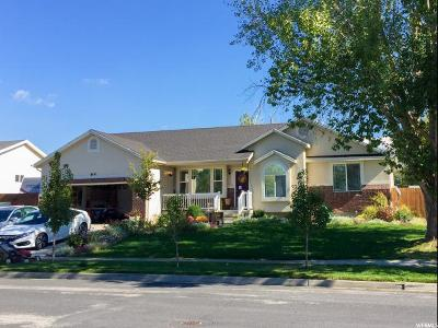 Layton Single Family Home For Sale: 64 N 875 W