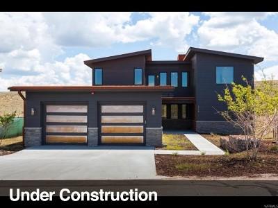 Park City Single Family Home For Sale: 6800 W Golden Bear Loop #30