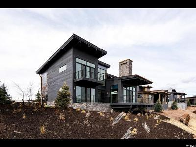 Park City Single Family Home For Sale: 6768 W Golden Bear Loop #28