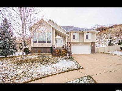 Layton Single Family Home For Sale: 3153 E 1250 N