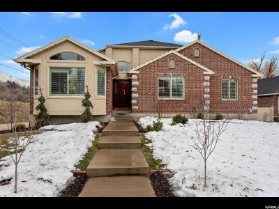 Layton Single Family Home For Sale: 2896 E 3025 N