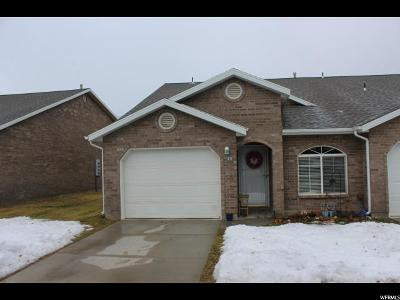 Brigham City Townhouse For Sale: 750 S 400 E #44