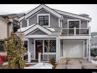 Park City Single Family Home For Sale: 566 Park Ave